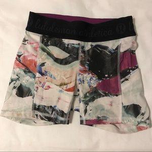 Lulu Lemon🍋 What the Sport Long Shorts w Pockets